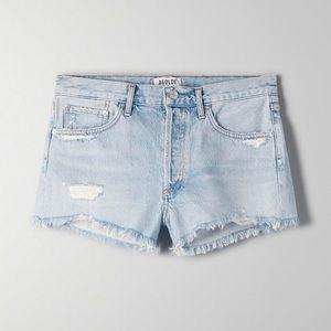 AGOLDE Bitter Parker Jean Shorts 28